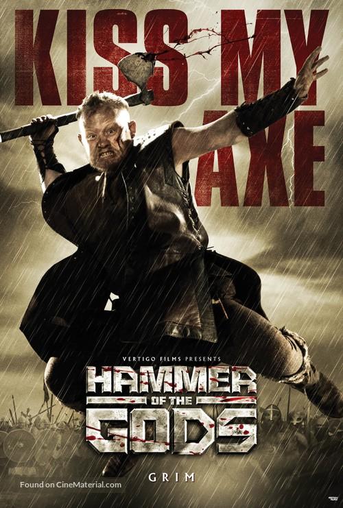 Hammer of the Gods - British Movie Poster