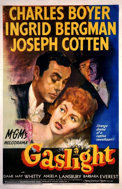 Gaslight - Theatrical movie poster