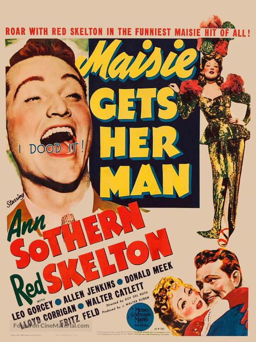 Maisie Gets Her Man - Movie Poster