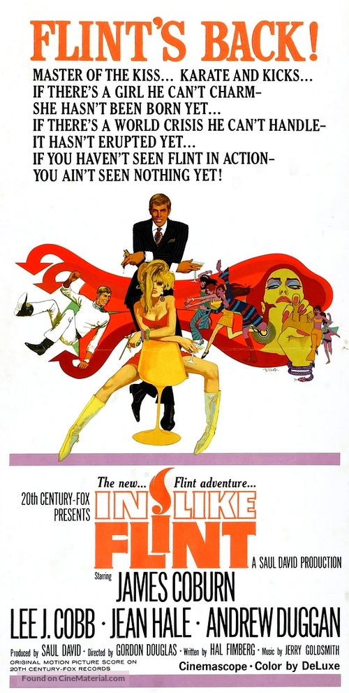In Like Flint - Movie Poster