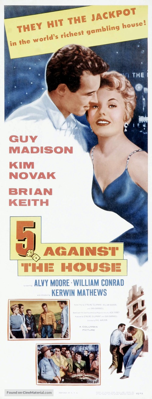 5 Against the House - Theatrical movie poster