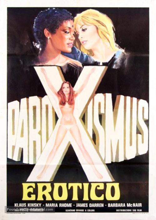Paroxismus - Italian Movie Poster