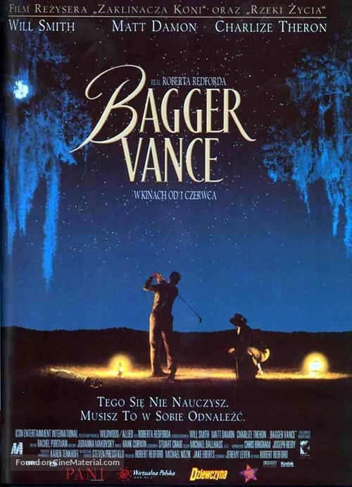 The Legend Of Bagger Vance - Polish Movie Poster