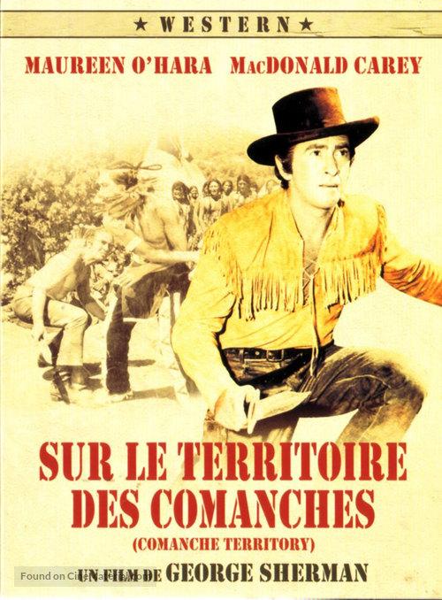 Comanche Territory - French Movie Cover