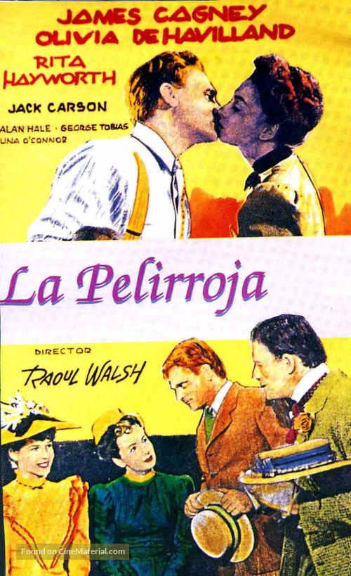 The Strawberry Blonde - Spanish Movie Poster