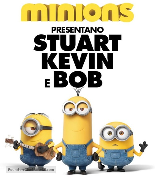 Minions 2015 Italian Movie Poster