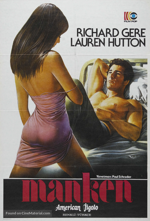 American Gigolo - Turkish Movie Poster