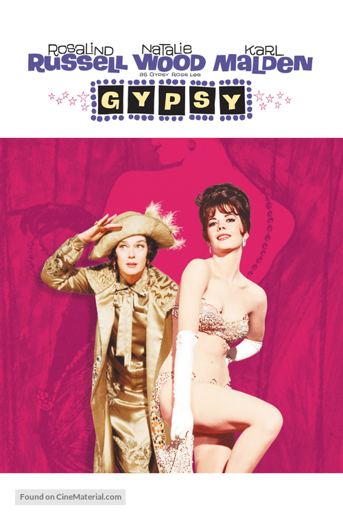 Gypsy - DVD cover
