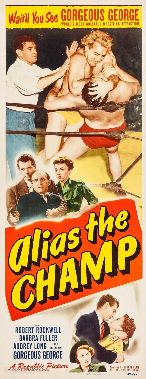 Alias the Champ - Movie Poster