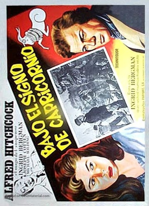 Under Capricorn - Argentinian Movie Poster