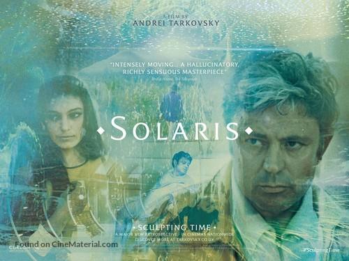 Solyaris - British Re-release movie poster