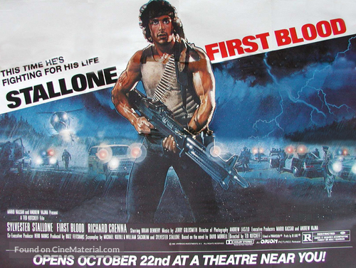 First Blood - Movie Poster
