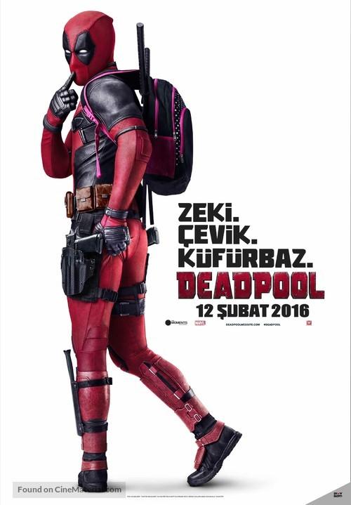 Deadpool - Turkish Movie Poster