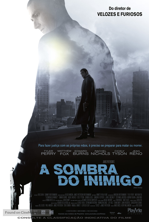 Alex Cross - Brazilian Movie Poster
