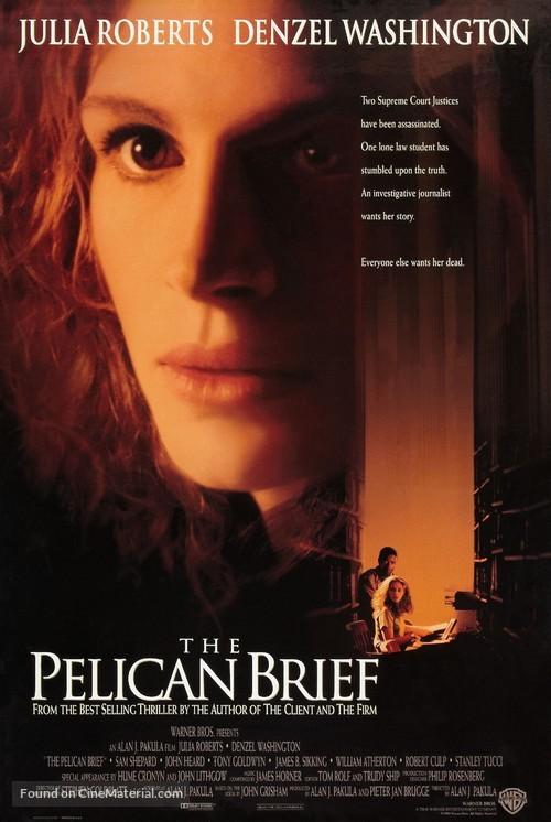 The Pelican Brief - Movie Poster