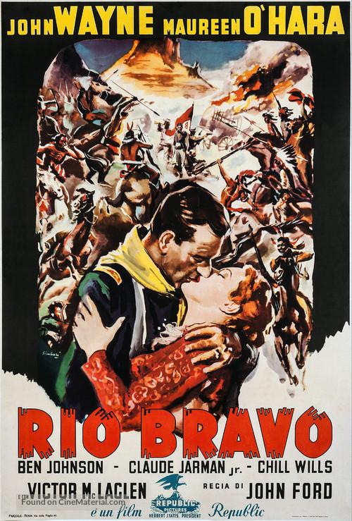Rio Grande - Italian Movie Poster