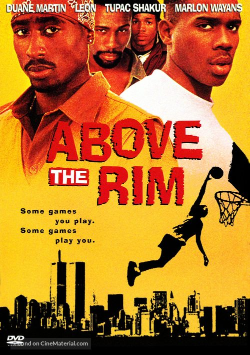 Above The Rim - DVD movie cover