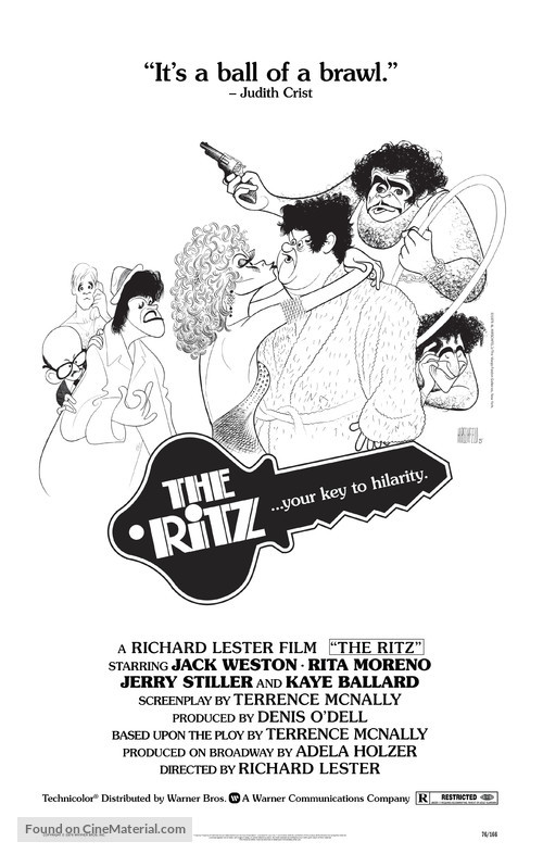 The Ritz - Movie Poster
