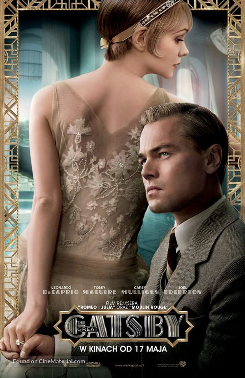 The Great Gatsby - Polish Movie Poster