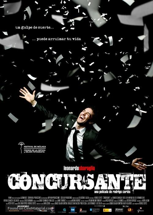 Concursante - Spanish Movie Poster