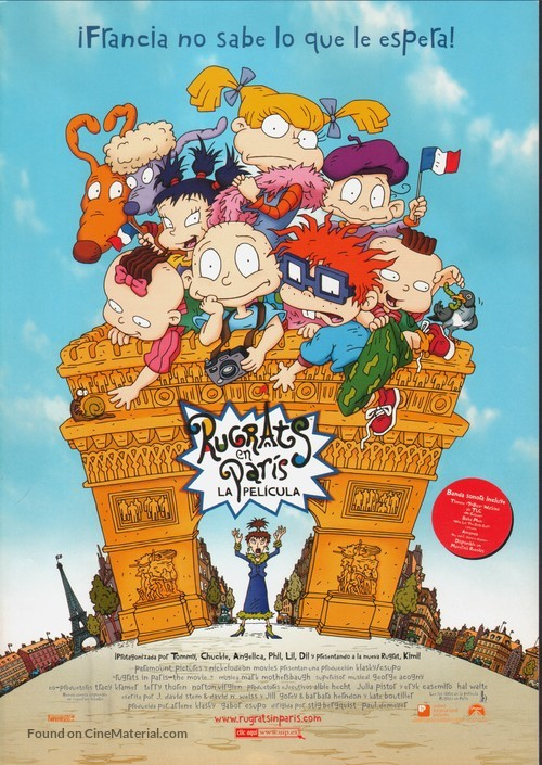Rugrats in Paris: The Movie - Rugrats II - Spanish Movie Poster