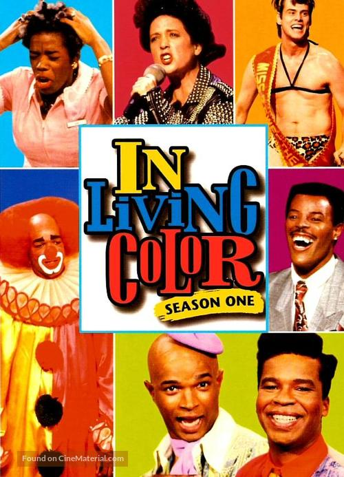 """""""In Living Color"""" - DVD movie cover"""