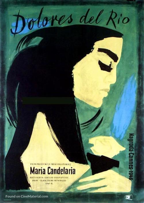 María Candelaria - Polish Movie Poster