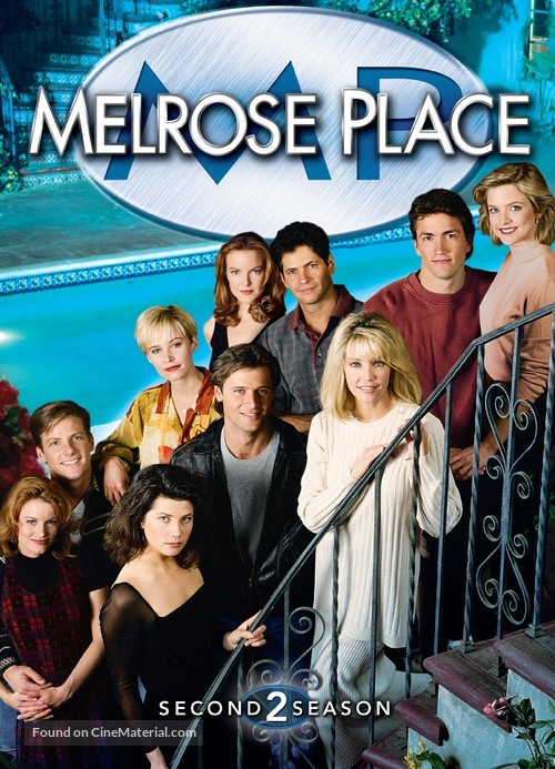 """""""Melrose Place"""" - DVD movie cover"""