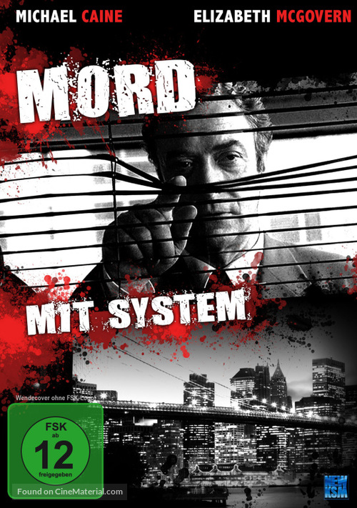 A Shock to the System - German DVD movie cover
