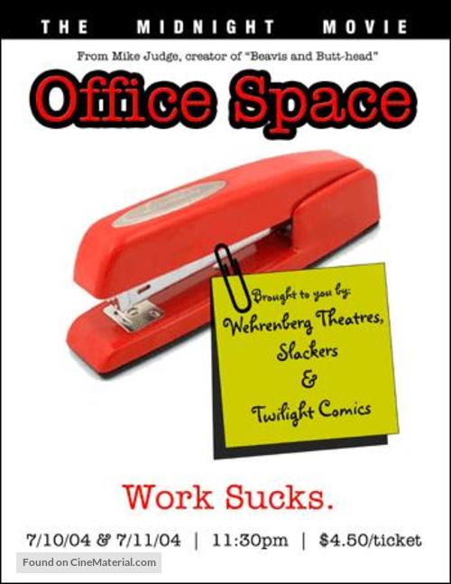 Office Space - Movie Poster