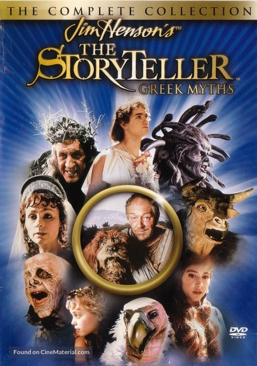 """The Storyteller: Greek Myths"" - poster"