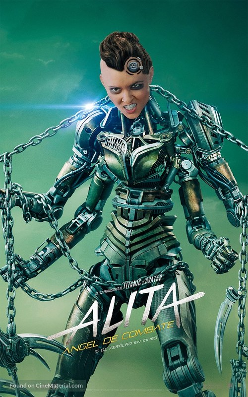 Alita: Battle Angel - Spanish Movie Poster