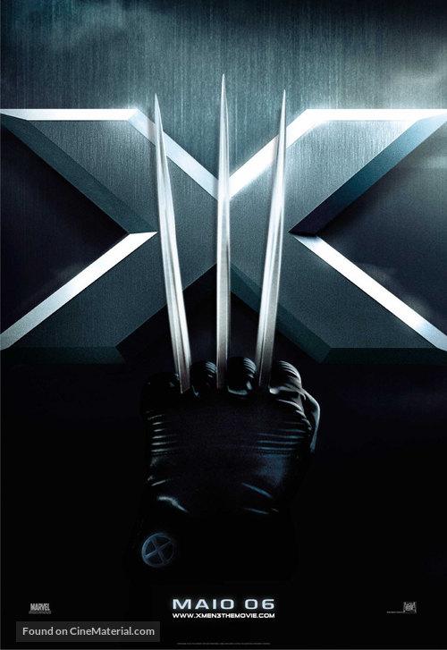 X-Men: The Last Stand - Brazilian Movie Poster