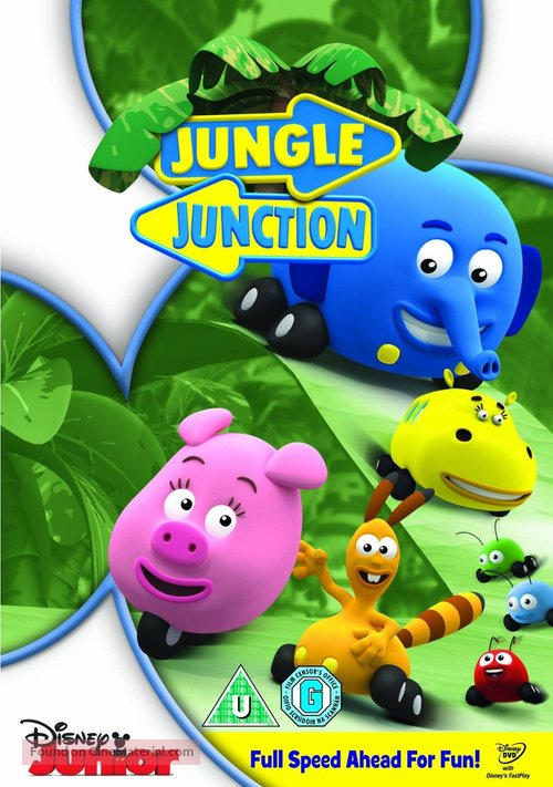 """""""Jungle Junction"""" - British DVD movie cover"""