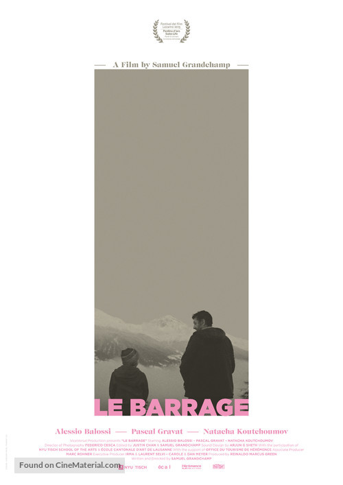 Le barrage - Swiss Movie Poster
