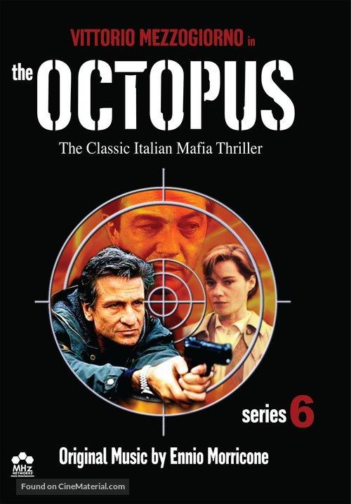 """""""La piovra 6 - L' ultimo segreto"""" - DVD movie cover"""