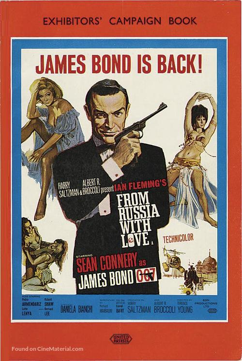From Russia with Love - Movie Poster