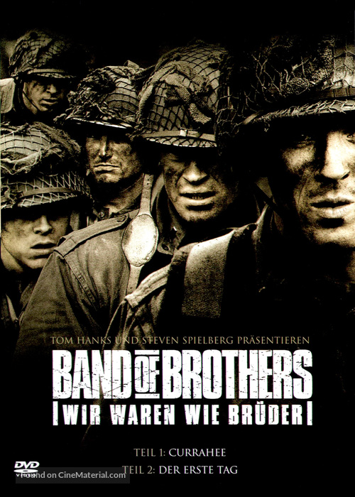 """""""Band of Brothers"""" - German Movie Cover"""