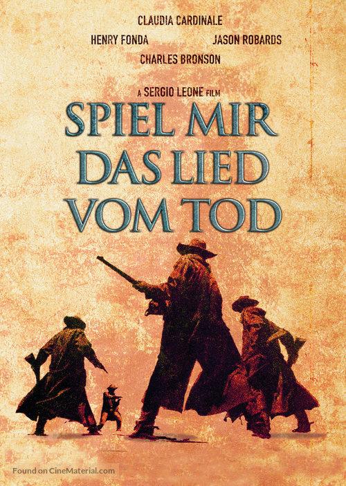 C'era una volta il West - German DVD movie cover