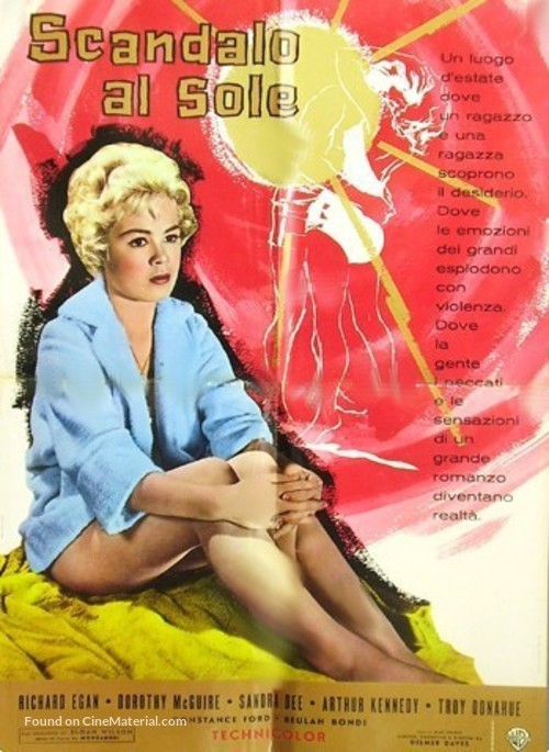 A Summer Place - Italian Movie Poster