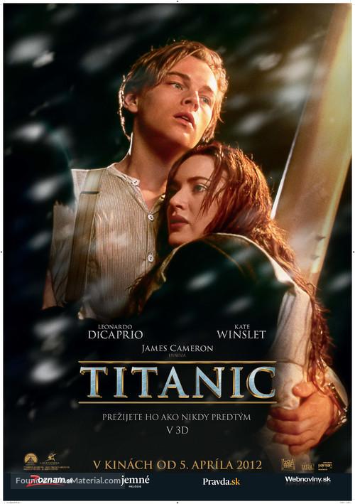 Titanic - Slovak Movie Poster