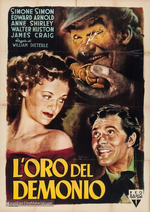 The Devil and Daniel Webster - Italian Movie Poster