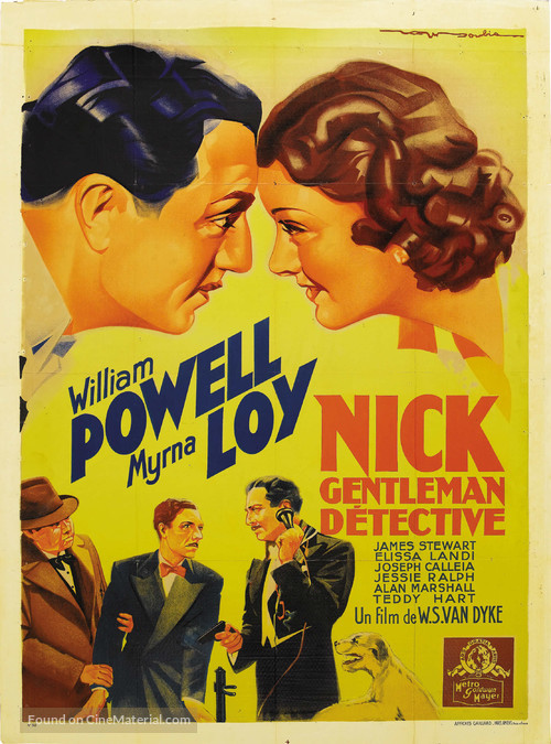 After the Thin Man - French Movie Poster