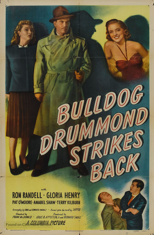 Bulldog Drummond Strikes Back - Movie Poster