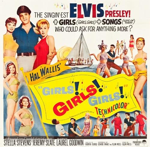 Girls! Girls! Girls! - Movie Poster