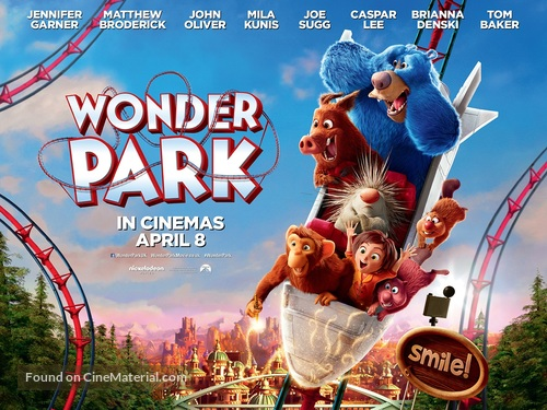 Wonder Park - British Movie Poster