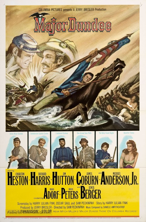 Major Dundee - Movie Poster