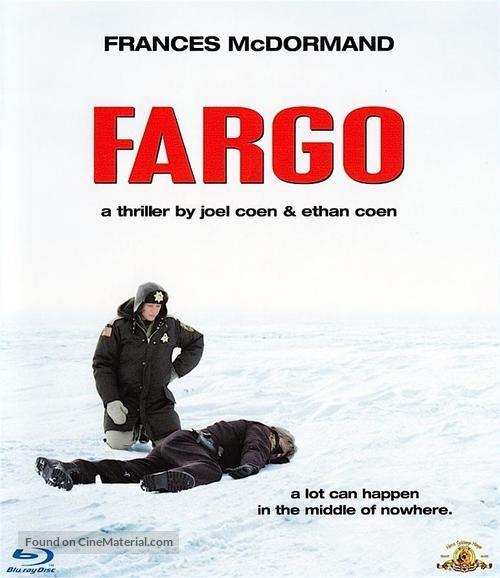 Fargo - Blu-Ray movie cover