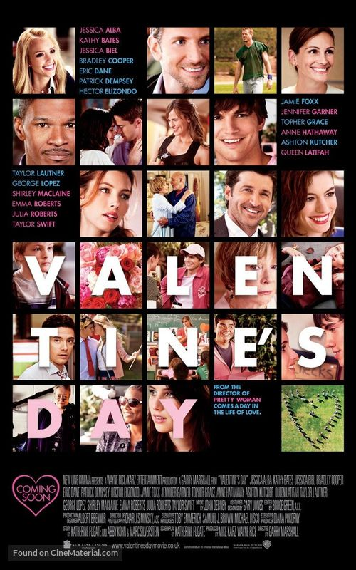 Valentine's Day - British Movie Poster
