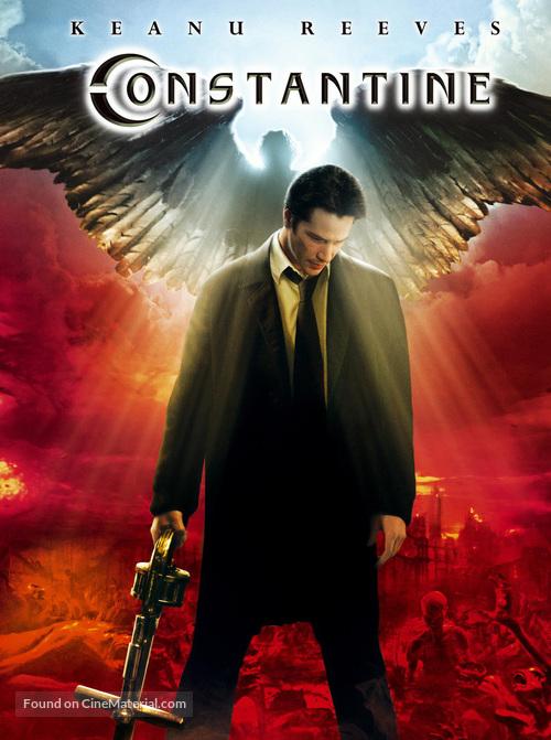 Constantine - DVD movie cover